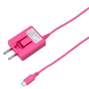 BCACM1015PK [microUSB AC充電器 1A 1.5m ピンク]