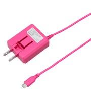BCACM1815PK [microUSB AC充電器 1.8A 1.5m ピンク]