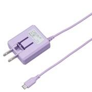 BCACM1815VI [microUSB AC充電器 1.8A 1.5m バイオレット]