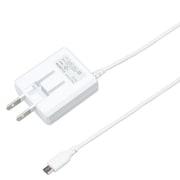 BCACM1825WH [microUSB AC充電器 1.8A 2.5m 白]