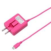 BCACM1825PK [microUSB AC充電器 1.8A 2.5m ピンク]