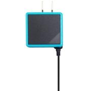 ANS-2D015BT [3DS用 カラフルACアダプタ ブラック×ターコイズ]