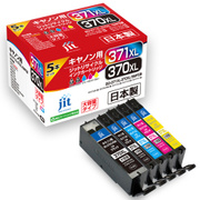 JIT-KC3703715PXL [キヤノン BCI-371XL+370XL/5MP互換リサイクルインクカートリッジ]