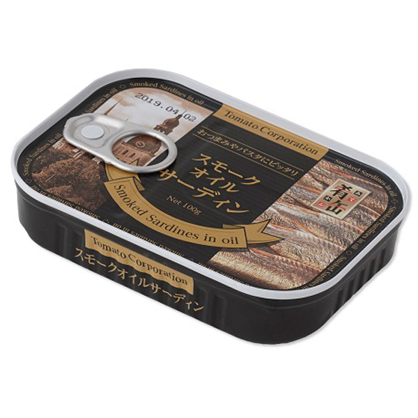肴缶 スモークオイルサーディン (ラトビア産) 100g
