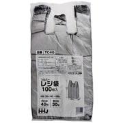 TC-40 [レジ袋 シルバー 西日本40号/東日本30号 100枚]