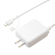 IPA-MC35/WH [ロングケーブル一体型 USB microB対応 充電用ACアダプタ ホワイト]