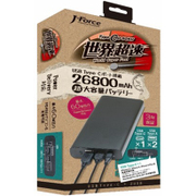 JF-PEACE8K2660 [Power Delivery対応 大容量モバイルバッテリー 26800mAh]