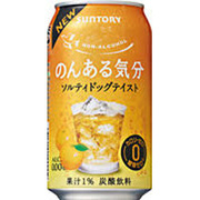 のんある気分 ソルティドッグテイスト 350ml×24本 [アルコールテイスト飲料]