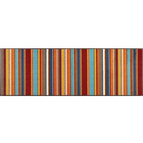 AB00212 [キッチンマット Stripes burnt orange 60×180cm]