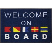 AB00004 [玄関マット Welcome on Board 50×75 cm]