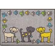 AB00104 [玄関マット Dog Parade 50×75 cm]