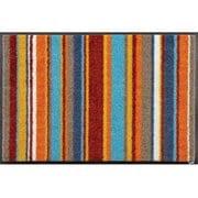 AB00223 [玄関マット Stripes burnt orange 40×60 cm]