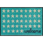 AB00289 [玄関マット Welcome Stars 50×75 cm]