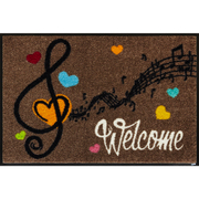AB00293 [玄関マット Welcome Music 50×75 cm]