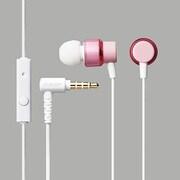 EHP-CS100MXPN [スマートフォン用クリアカラーヘッドホン マイク付き ピンク]