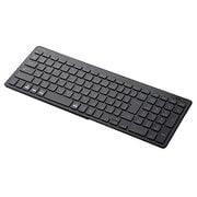 TK-FBP101BK [Bluetoothコンパクトキーボード/パンタグラフ式/薄型/マルチOS対応/ブラック]