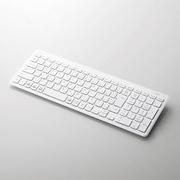 TK-FBP101WH [Bluetoothコンパクトキーボード/パンタグラフ式/薄型/マルチOS対応/ホワイト]