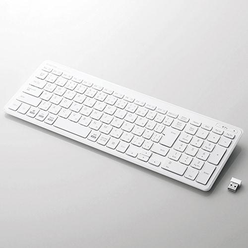 TK-FDP099TWH [ワイヤレスコンパクトキーボード/パンタグラフ式/薄型/日本語配列/ホワイト]