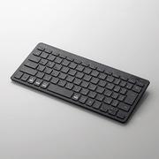 TK-FBP100BK [Bluetoothミニキーボード/パンタグラフ式/薄型/マルチOS対応/ブラック]