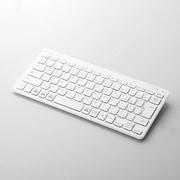 TK-FBP100WH [Bluetoothミニキーボード/パンタグラフ式/薄型/マルチOS対応/ホワイト]