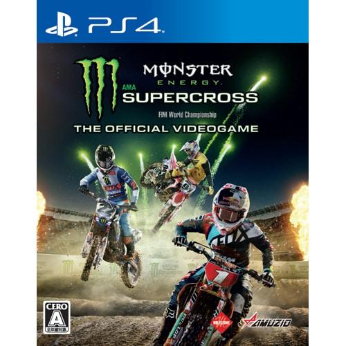 Monster Energy Supercross - The Official Videogame (モンスター エナジー スーパークロス ザ オフィシャル ビデオゲーム) [PS4ソフト]