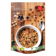 木々薫る メープルシロップ味のオーツ麦と大麦のグラノーラ 240g