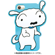 KS-IC014 [シリコンケース iPhone8/7用 クレヨンしんちゃん シロ]