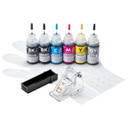 INK-C381S30S6 [詰め替えインク BCI-380PGBK・381BK・C・M・Y・GY用]