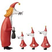 UDF MOOMIN シリーズ4 フィリフヨンカ&子供3人セット [ムーミン 塗装済完成品フィギュア]