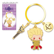 S2-KR002 Fate/Grand Order メタルキーリング ギルガメッシュ [キャラクターグッズ]