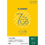 BM-GTPL4-1MN [b-mobile 7GB×1ヶ月SIMパッケージ(ナノSIM)]