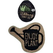 &Green トイレ2点セット U型・O型用 ENJOY PLANT
