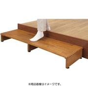 FL03313 [天然木 収納付き 玄関台 120cm幅]
