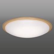 RX80086 [LEDシーリングライト 調光 昼光色 8畳用 木枠付き リモコン付き]