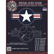 FAD48-035 現用アメリカ軍 国籍マークセット [1/48 デカール]
