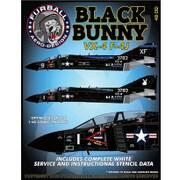 FAD48-061 アメリカ海軍 F-4J VX-4 ブラックバニー [1/48 デカール]