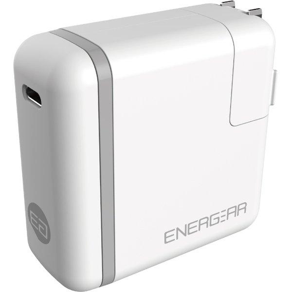 E00650A1CWHTUS [USB PD正規認証品TYPE-C ACアダプタ65W(ホワイト)180cm認証品ケーブルSET]