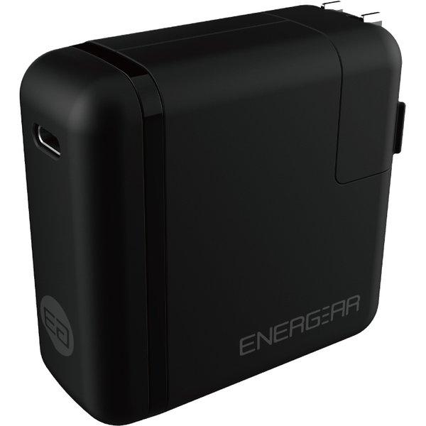 E00650A1CBLKUS [USB PD正規認証品TYPE-C ACアダプタ65W(ブラック)180cm認証品ケーブルSET]