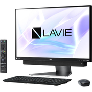 PC-DA870KAB [LAVIE Desk All-in-one/23.8型ワイド/Core i7-8550U/メモリ8GB/HDD3TB/ブルーレイドライブ/Windows 10 Home 64ビット/Office Home & Business 2016/ダークシルバー]