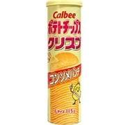 カルビー ポテトチップス クリスプ コンソメパンチ 115g [スナック菓子]