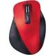 M-XGL10DBXRD [EX-G BlueLEDマウス 握りの極み Lサイズ 無線 2.4GHz 5ボタン レッド]