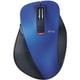 M-XGL10BBXBU [EX-G BlueLEDマウス 握りの極み Lサイズ Bluetooth 5ボタン ブルー]
