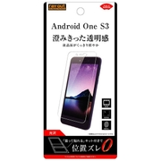 RT-ANS3F/A1 [Android One S3 光沢 指紋防止 液晶保護フィルム]