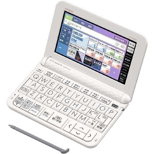 XD-Z4900WE [電子辞書 EX-word(エクスワード) XD-Zシリーズ 高校生進学校モデル 229コンテンツ収録 ホワイト]