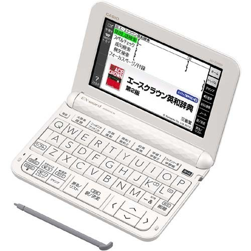 XD-Z3800WE [電子辞書 EX-word(エクスワード) XD-Zシリーズ 中学生モデル 170コンテンツ収録 ホワイト]