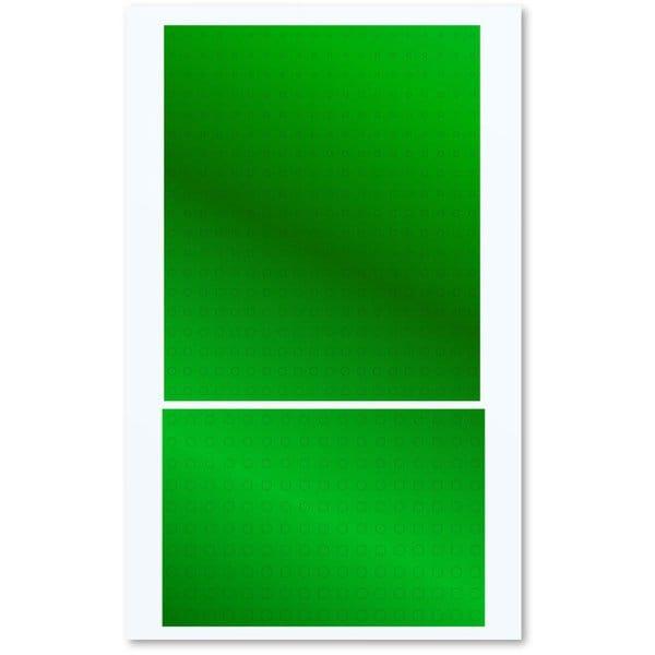 円形メタリックシール S 直径1.0~2.8mm グリーン