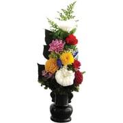 お供え用プリザーブドフラワーアレンジメント 花器付L