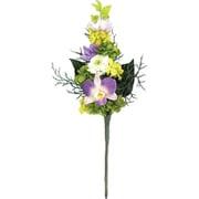お供え用プリザーブドフラワーアレンジメント「蘭」 花のみS