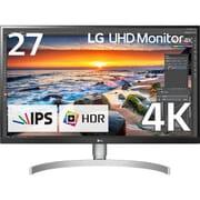 27UK850-W [27型 HDR対応4Kモニター (ノングレア 3840×2160) USB Type-C端子/キャリブレーション/FreeSync /ピボット/高さ調整/5W+5W内蔵スピーカー対応]