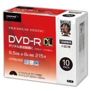 HDDR21JCP10SC [DVD-R DL(2層式) 8倍速 10P スリムケース]